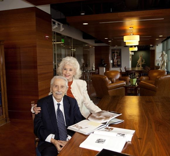 Joe and Betty Weider and the Joe Weider Foundation