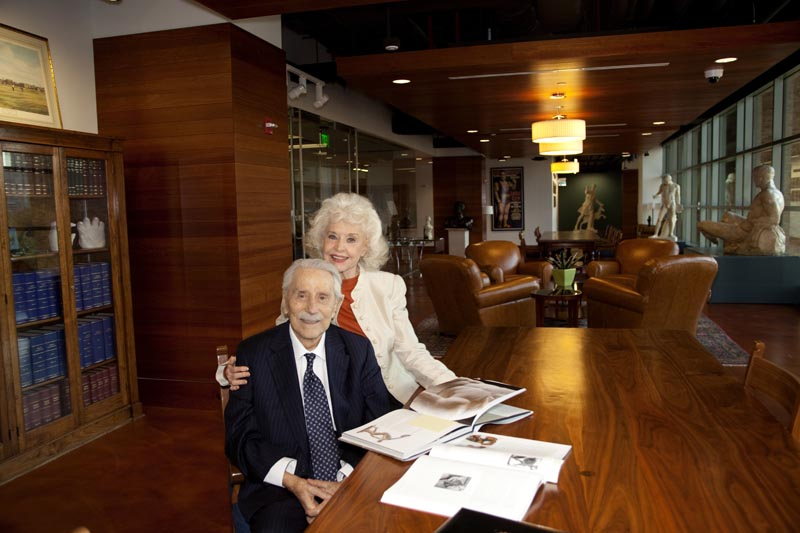 Joe and Betty Weider and the Joe Weider Foundation