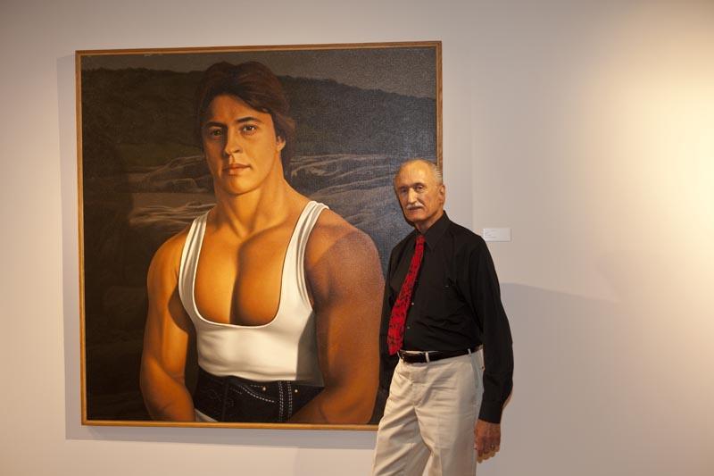 """""""Portrait of a Powerlifter"""" by Bill Wiman"""