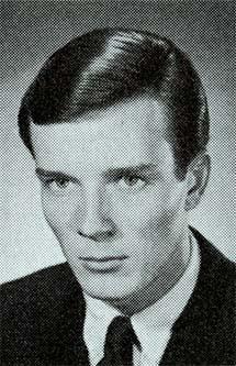 Headshot of Bob Seagren 1968 U.S. Olympic team member