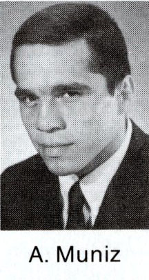 Headshot of Armando Muniz 1968 U.S. Olympic team member