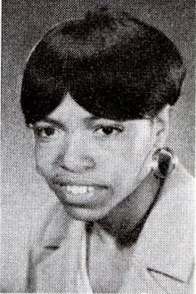 Headshot of Esther Stroy Harper 1968 U.S. Olympic team member