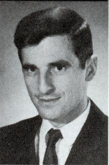 Headshot of Tom Balla 1968 U.S. Olympic team member