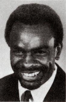 Headshot of Leon Coleman 1968 U.S. Olympic team member