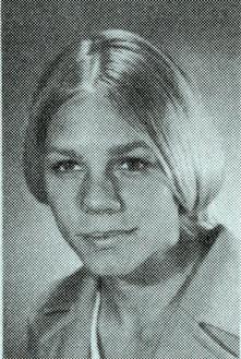 Headshot of Francie Kraker Goodridge 1968 U.S. Olympic team member