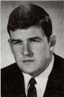 Headshot of Randy Matson 1968 U.S. Olympic team member