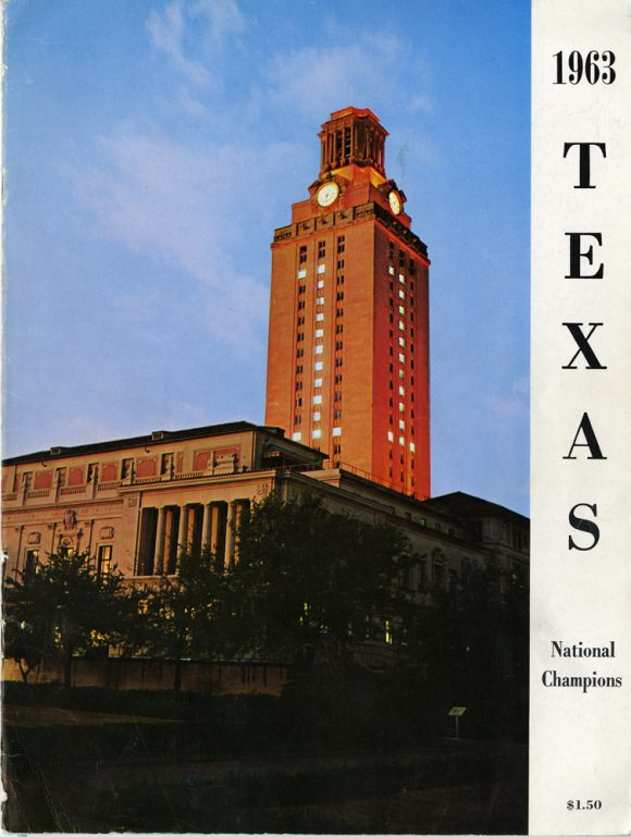 1963 Texas Longhorn National Championship