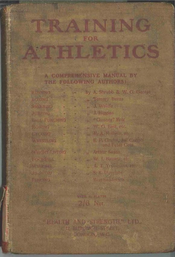 """Running chapter from """"Training for Athletics"""" by W.G. George"""
