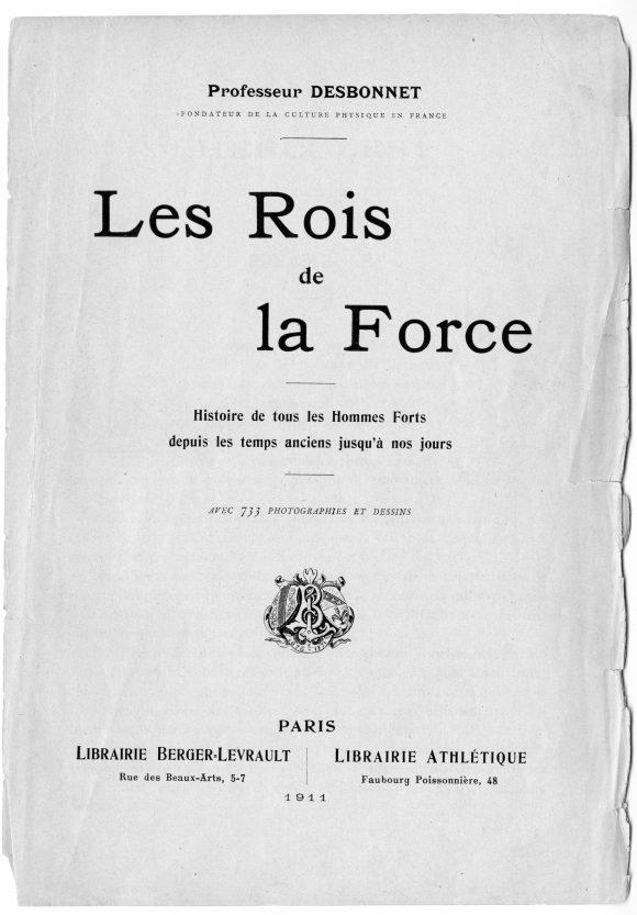 Les Rois de la Force (The Kings of Strength) by Edmond Desbonnet