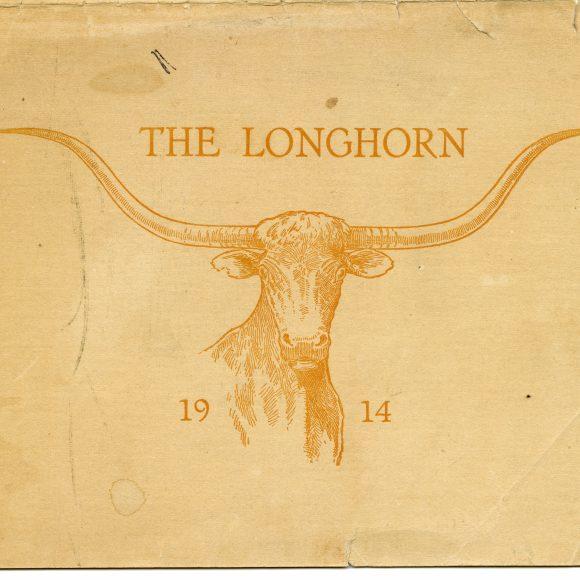 Commemorative 1914 UT Longhorns Publication