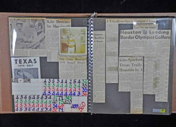 Tom Kite Scrapbooks