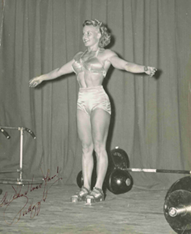 Barbells & Bios: The Abbye (Pudgy) Eville Stockton and Les Stockton Papers