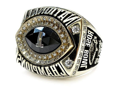 Darrell K Royal 2005 Championship Ring
