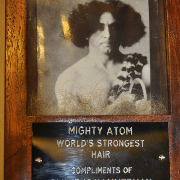 Lock of Hair from The Mighty Atom