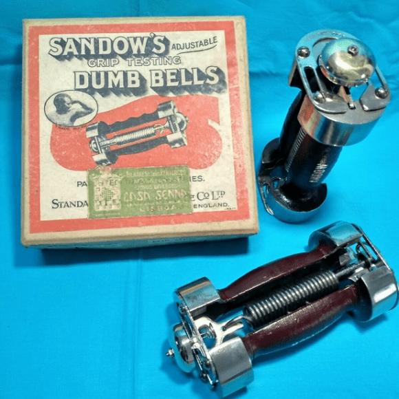 Barbells and Bios: The Sandow Ringing Dumb-Bell