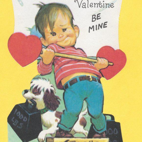 1950s Strongman Valentine