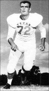 Former University of Texas football player Don Talbert