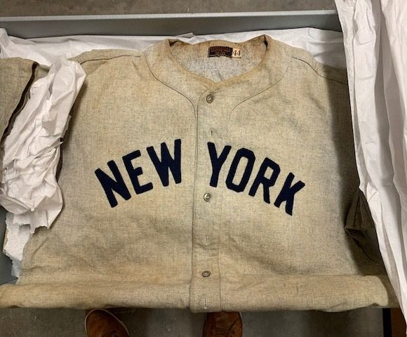 New York Yankees Jersey, c. 1940