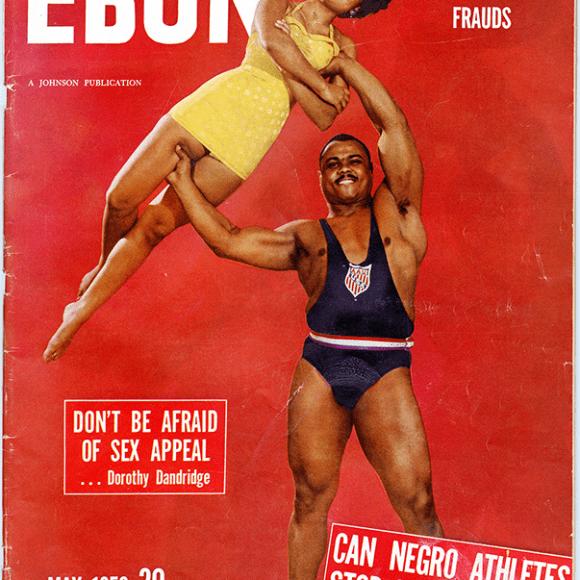 John Davis on the Cover of Ebony Magazine, May 1952