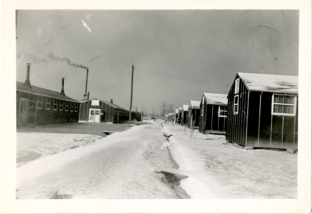 A snapshot of the Tule Lake Relocation Center at Newell, California, during World War II.